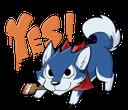 Emoji for HuskyYes