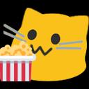 Emoji for blobcatpopcorn