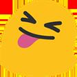 Emoji for blobTireLangue