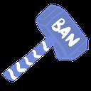 Emoji for BlurpleBanHammer