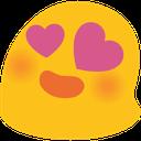 Emoji for blobhearteyes