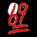 Emoji for 69