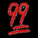 Emoji for 99