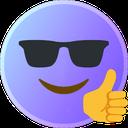 Emoji for gimocoolthumbsup