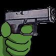 Emoji for pepe_Gun