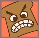 Emoji for angrybread