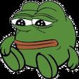 Emoji for pepe_Sitting