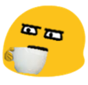:BlobStareSip: Discord Emote