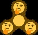 Emoji for fidgetThinker