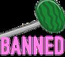 Emoji for banned
