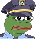 Emoji for pepe_FeelsPoliceMan