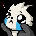 Emoji for pandaSad