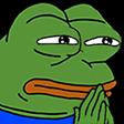 Emoji for pepe_Considering
