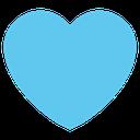 Emoji for lightblue_heart