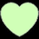 Emoji for palegreen_heart