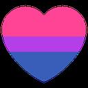 Emoji for bisexual_heart