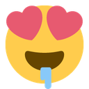 Emoji for heart_drool