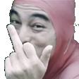 :FacePinkFU: Discord Emote
