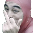 :FacePinkFU: Discord Emote