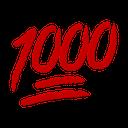 Emoji for 1000