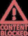 Emoji for content_blocked