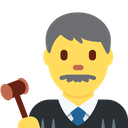Emoji for judge