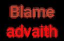 Emoji for blameAdvaith