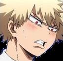:BakuFlustered: Discord Emote