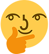 :LennyThink: Discord Emote