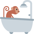 Emoji for 8562_monkey_bath