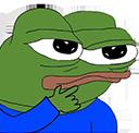 :PepeThink: Discord Emote