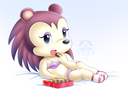 Emoji for animal_crossing_labelle_valentin