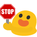 Emoji for blobstop