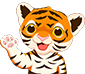 Emoji for tigerwave