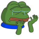 Emoji for crying_pepe