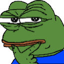 Emoji for thinkingpepe