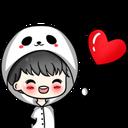 Emoji for heartblush