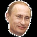 Emoji for putinsmile