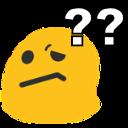 Emoji for blobwaitwhat