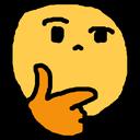Emoji for suspiciousthonk