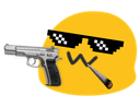 :GangstaBlob: Discord Emote