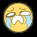 Emoji for sobs