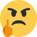 Emoji for flip_off