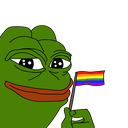 Emoji for pride_pepe