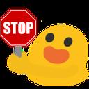 :blobstop: Discord Emote