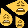 :wearydrops: Discord Emote