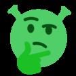 :ShrekThink: Discord Emote