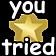 :youtriedstar: Discord Emote