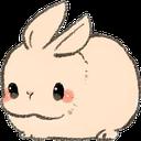 Emoji for poutbunny