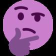:ThinkingL: Discord Emote